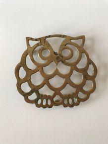 Dessous-de-plat vintage forme hibou