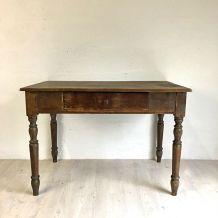 Petite table d'office XIXème