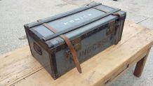 malle caisse coffre militaire ancienne vintage