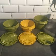 Lot de 3 boîtes Tupperware vintage