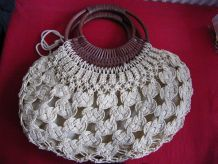 SAC A MAIN CROCHETE 1970