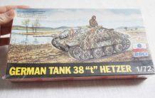 maquette tank allemand 1/72 Hetzer