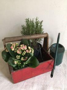 Panier de jardin, caisse à outils