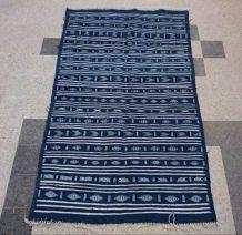 Tapis kilim berbère bleu 235cm*140cm