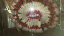 Authentique coiffe d indien provenant des Etats-Unis