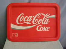 Plateau publicitaire Coca Cola  en tôle