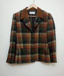 petite veste en tweed