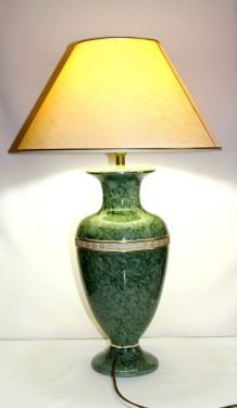 Grande lampe vintage (années 70)  céramique  signée
