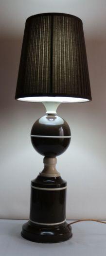 Grande lampe  années 60/70 en tôle peinte
