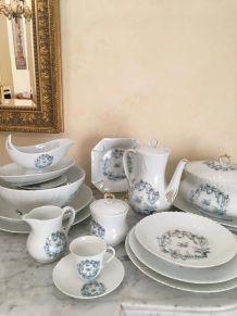 Service Porcelaine de Limoges JAMMET SEIGNOLLES