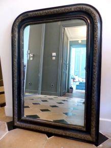 Grand Miroir NAPOLEON III - Trumeau de cheminée époque 19ème