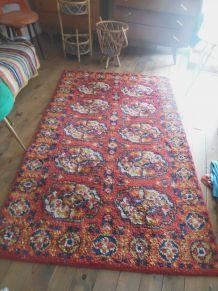 tapis en laine années 60-70