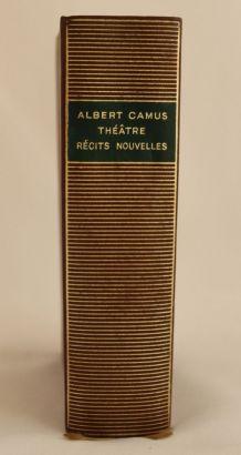 Livre La pléiade, A. Camus, Récits et nouvelles, 1965
