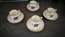 Vend tasses à café  style ancien