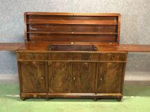 Enfilade de réception du XIXème en acajou - meuble très rare