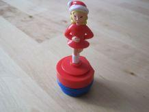 jouet figurine nestlé patineuse  vintage