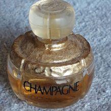 """Flacon de parfum miniature très RARE """" Champagne"""" de Yves S"""