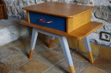 Petite table en chêne années 50/60