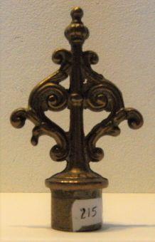 Étouffe flamme de bougeoir en bronze vintage