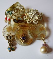 Broche - création artisanale JPM´CREATIONS