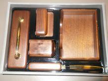 Set coffret Cadeau bureau en bois