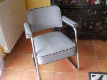 fauteuil industriel vintage
