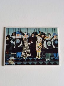"""carte postale Villeroy et Bosch  """"les marionnettes"""""""