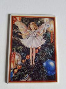 """carte Villeroy et Bosh (vilbo card)  """"enfant de Noël"""""""