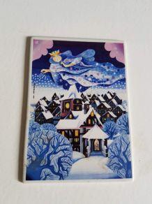 "carte postale Villeroy et Bosch ""douce nuit"""