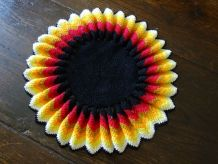 Napperon crochet vintage