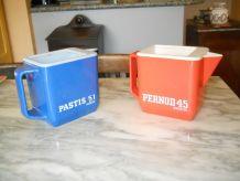 pichets pub Pastis et Pernod