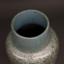 Vase art déco émaillé Sarreguemines