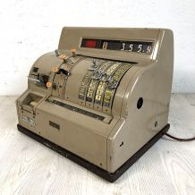 Caisse enregistreuse National NCR vintage 70's