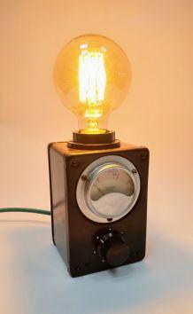 """Lampe industrielle, lampe vintage - """"1000 Volts"""""""