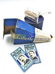 Rasoir de sureté Gillette emballage d'origine