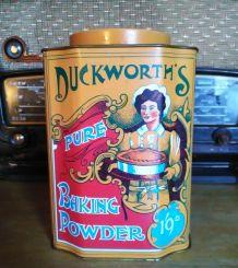 Jolie boite lithographiée Duckworth's (England)