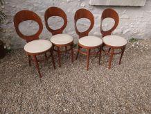 Set de quatre chaises Baumann Mouette