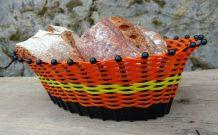 panier tressé, panière pain