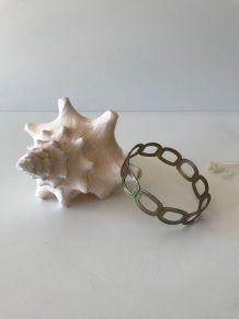 Bracelet vintage en laiton