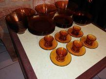 Set Vaisselle de table 39 pièces, années 60s/70s