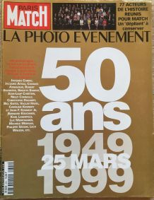 Paris Match - 50 ans