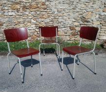 19 Chaises Galvanitas 1950/60