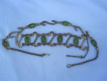 ancien bijoux parure bronze