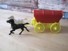 Jouet ancien de bazar vintage 60/70 .western cow boy