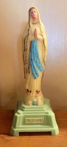 statuette vierge marie