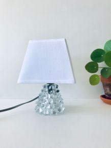 Lampe ancienne en cristal