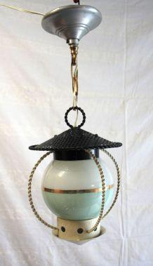Suspension lanterne vintage – années 50