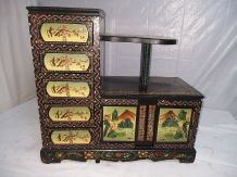 Cabinet commode Asiatique
