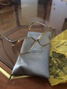 Lunettes vintage Christian Dior