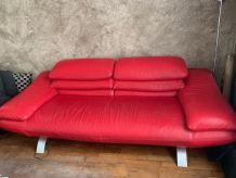 1 canapé en cuir